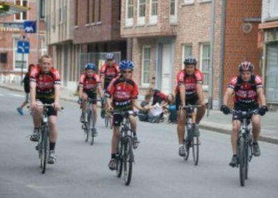 Amateur wielerwedstrijd