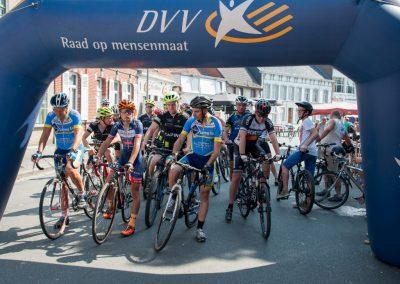 Amateur wielerwedstrijd volwassenen