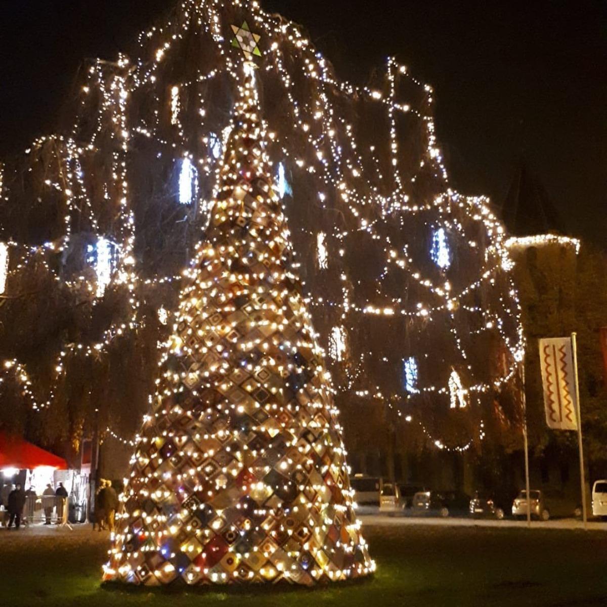 Winternacht - Kerstboom